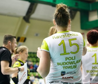 Poli Women volleyball extra league team head sponsor - Poli Budowlani Toruń 1